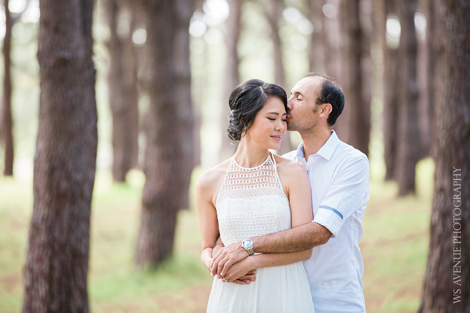 Prewedding portrait session