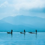 Travel story – The three fishermen of Inle Lake, Myanmar