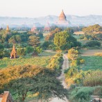 Travel shot – Sunrise at Bagan, Myanmar